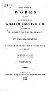 The whole works of the late Reverend William Romaine ...