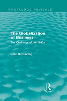 The Globalization of Business  Routledge Revivals  PDF