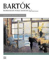 Romanian Folk Dances, Sz. 56 for the Piano