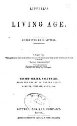 Littell S Living Age Book PDF