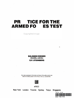 Practice for the Armed Forces Test PDF