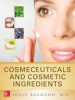 Cosmeceuticals and Cosmetic Ingredients PDF