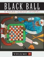 Black Ball  A Negro Leagues Journal PDF