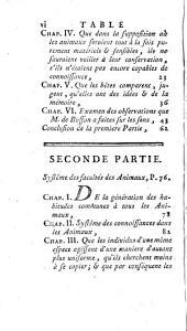 Traité des animaux: où, après avoir fait des observations critiques sur le sentiment de Descartes & sur celui de M. de Buffon, on entreprend d'expliquer leurs principales facultés