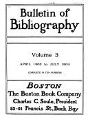 Download Bulletin of Bibliography   Magazine Notes Book