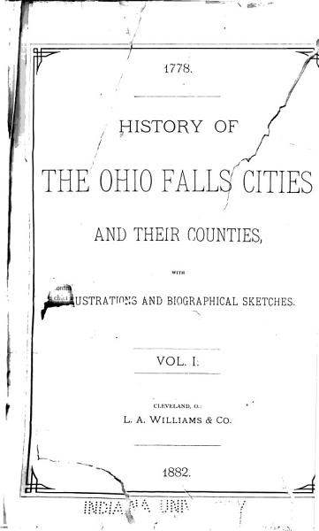Download History of the Ohio Falls Cities and Their Counties  General history  History of Jefferson County  Ky  The history of Louisville Book