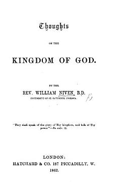Thoughts on the Kingdom of God PDF