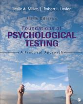 Foundations of Psychological Testing: A Practical Approach, Edition 5