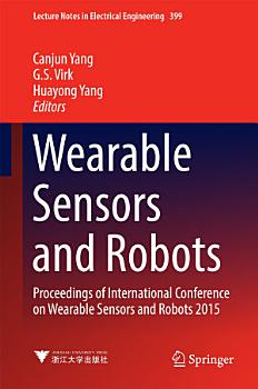 Wearable Sensors and Robots PDF
