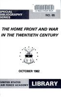 The Home Front and War in the Twentieth Century PDF