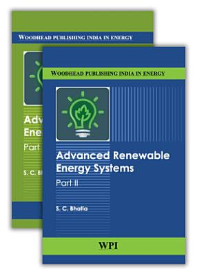 Advanced Renewable Energy Systems   Part 1 and 2