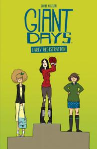 Giant Days  Early Registration Book