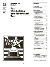 Internal Revenue Service Tax Information Publications: (1994), Volumes 4-5
