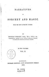 Narratives of Sorcery and Magic: From the Most Authentic Sources