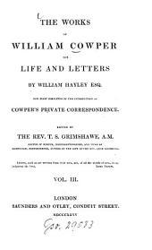 The works ¬of William Cowper: Volume 3