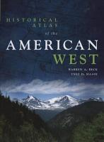 Historical Atlas of the American West PDF