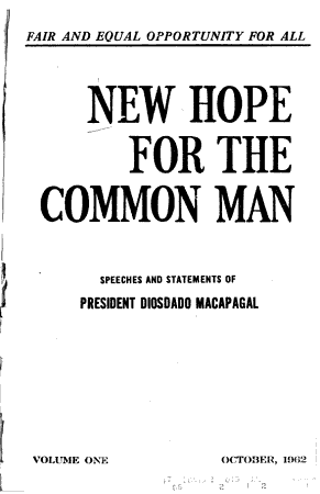 New Hope for the Common Man PDF