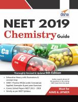 NEET 2019 Chemistry Guide   6th Edition PDF