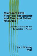 Microsoft 2019 Financial Statements and Financial Ratios Analyzed