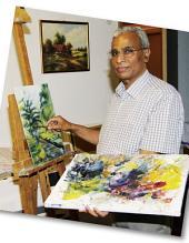 In der Fremde entdeckt er sein Talent – Wie einem Fremden das Malen gegen die Hoffnungslosigkeit hilft: ECHT Oberfranken - Ausgabe 29