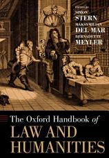 The Oxford Handbook of Law and Humanities PDF