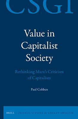 Value in Capitalist Society
