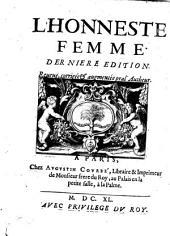 L'honneste femme: Volume1