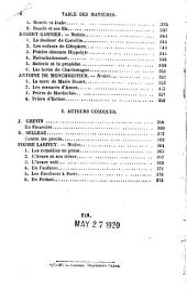 Moreeaux choisis des principaux éerivains en prose et en vers du XIVe siècle, publiés d'après les éditions originales ou les éditions critiques les plus autorisées et aecompagnées de notes explicatives