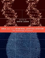 DNA and the Criminal Justice System PDF