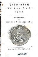 Taschenbuch für das jahr 1802
