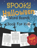 Spooky Halloween Word Search Book For Kids PDF