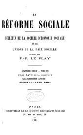 Revue d'ëconomie sociale et rurale: Volume27