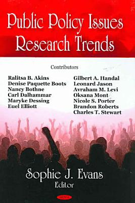 Public Policy Issues Research Trends PDF
