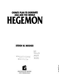 Hegemon PDF