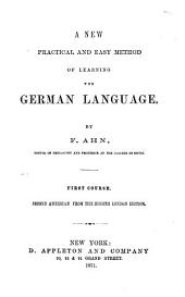 New... Method of Learning the German Language: 1st & 2nd Courses
