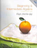Beginning and Intermediate Algebra Plus MyMathLab Student Access Kit Book