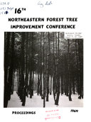 Proceedings - Northeastern Forest Tree Improvement Conference