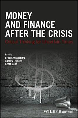 Money and Finance After the Crisis PDF