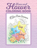 Love and Flower Coloring Book PDF