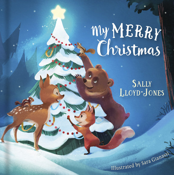 My Merry Christmas  padded Board Book