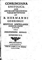 Conringiana epistolica
