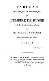 Tableau historique et statistique de l'empire de Russie à la fin du dix-huitième siècle: Volume2