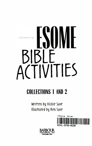 Kid s Book of Awesome Bible Activities PDF