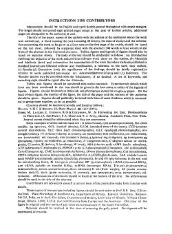 Plant Physiology   Biochemistry PDF