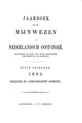 Jaarboek van het mijnwezen in Nederlandsch Oost-Indië: Volume 11