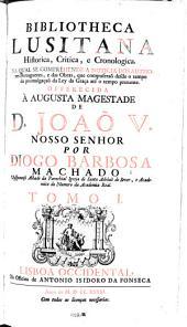 Bibliotheca Lusitana Hiftoria
