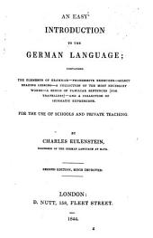 An easy introduction to the German language