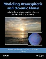 Modeling Atmospheric and Oceanic Flows PDF