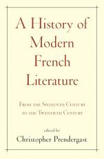 A History of Modern French Literature PDF