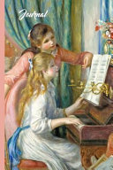 Auguste Renoir Two Girls at the Piano Vintage Art Journal